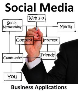 social media - business - gm